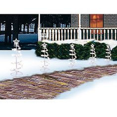 Spiral Tree Pathway Lights, 5-Pack at Big Lots.#BigLots Christmas Like Crazy Sweepstakes