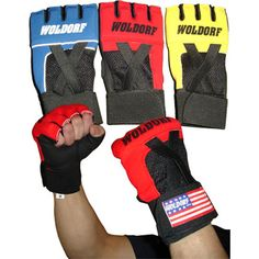 MMA Martial Arts:  Quick Mesh Gel Gloves     www.BeBodySmart.com