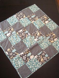 Perfect baby quilt on Etsy