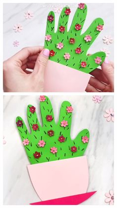 easy crafts Make this cute handprint cactus DIY Mother's Day card for a sweet memento for Mom or Grandma. It's easy for preschool, kindergarten & elementary children. Kids Crafts, Easy Mother's Day Crafts, Mothers Day Crafts For Kids, Spring Crafts For Kids, Crafts For Kids To Make, Mothers Day Cards, Summer Crafts, Art For Kids, Childrens Crafts Preschool