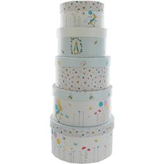 Beatrix Potter Nesting Storage Boxes - Set Of 5 | Stationery - New In! at The Works | Ideal Christening or New Baby gift £8