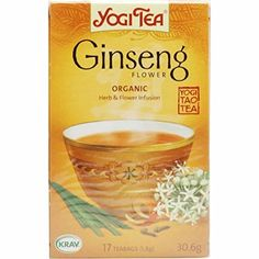 4 PACK  Yogi Tea  Ginseng Flower Tea  17 Bag  4 PACK BUNDLE *** Click on the image for additional details. (This is an affiliate link and I receive a commission for the sales)