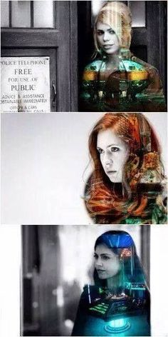 Love how they incorporate pictures into pictures. Makes it awesome! TARDIS