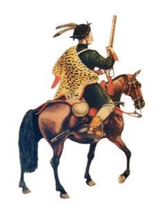 Mounted Hajduk, 1620