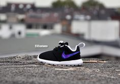 43e1d83a1037 Kids Custom Nike Roshe Runs featuring a Galaxy Swoosh! Available now! www