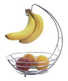 Shop at DormCo for our dorm Fruit Bowl! A dorm essential for college students that want to keep fresh fruit in their college dorm room, this must have dorm item has a bowl to store apples, oranges, and more while having a hook for bananas and grapes. Kitchen Items, Kitchen Gadgets, Kitchen Dining, Kitchen Stuff, Kitchen Storage, Kitchen Tools, Kitchen Appliances, Kitchen Bins, Fridge Storage