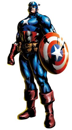 Captain America is a fictional superhero appearing in American comic books published by Marvel Comics. Description from gerbongartwork.com. I searched for this on bing.com/images