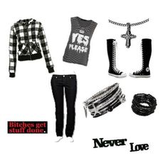 Scene Outfits for School | Emo/Scene school girl!! - Avenue7 - Express your fashion
