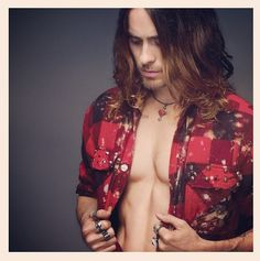But back to his chestal region. | Jared Leto Defies All Aging Logic As The Sexiest 42-Year-Old Man On Earth