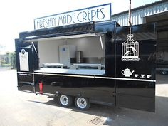 Photographs of Catering Trailers, Event & Exhibition Trailers, made in the UK Bingham Trailers Ltd