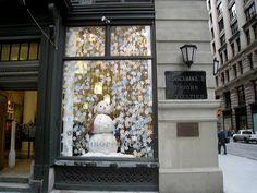 Anthropologie window displays - Photos by Katy Elliott