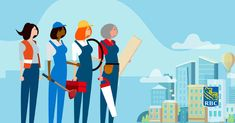 Canada is facing a critical shortage of skilled tradespeople. We can deepen the talent pool by recruiting, training and mentoring women. Leadership, Construction, Projects, Canada, Training, Fictional Characters, Natural, Women, Building