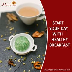 Start your day with #healthy #breakfast like #CoconutDream and #GajarHalwa. Get the healthy and #delicious #dishes @ http://restaurant-nirvana.com/menu_glimpse.html