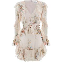 de23b3f3d980 ZIMMERMANN Folly Flutter Dress ($640) ❤ liked on Polyvore featuring dresses,  ruffle mini