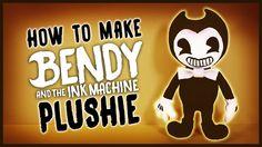 DIY Bendy and the Ink Machine Sock Plushie! FREE PATTERN! BATIM Plush Tu...