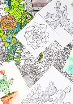 channeling inspiration and a free coloring download for you! | alisaburke | Bloglovin
