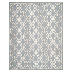 Safavieh Langley Textured Rug - Silver / Ivory (11' X 15'), Silver/Ivory