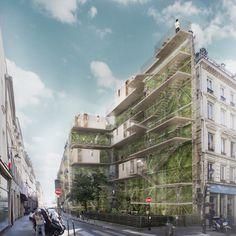 HabitLib' : projet urbain - NC Architecture