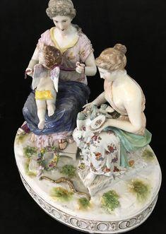 "MEISSEN PORZELLAN "" Amor in Nöten"" - AV-Pfandhaus Shop Painting, Amor, Figurine, Art, Painting Art, Paintings, Painted Canvas"