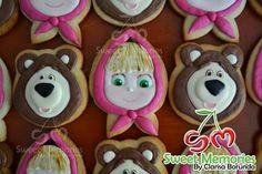 Masha & Bear cookies