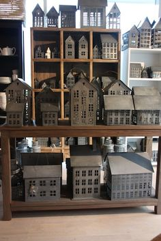 Tiny Houses / tin house lanterns
