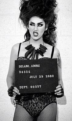 Adore Delano Black and White Drag Queens, Danny Noriega, Rupaul Drag Queen, Adore Delano, Violet Chachki, Adore U, I Am A Queen, Public Relations, My Idol