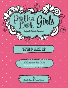 for young girls -Who Am I Bible Study and Workbook