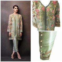 Paquistaní vestido  Elan Eden colección inspirada chaqueta