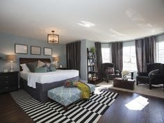 Sweeping Design - 25 Amazing Room Makeovers from HGTV's House Hunters Renovation on HGTV