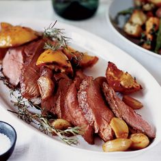 Paprika-Roasted Leg of Lamb // More Lamb Recipes: http://www.foodandwine.com/slideshows/lamb #foodandwine