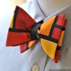 Visual appeal is abundant with this simple but eye catching color block bow tie. The solid black lines let each block of color speak for itself warm hues of gold orange and burgundy make this a truly special and unique bow tie. Www.bowtieclub.com (Matisse) . . . . . . . . . . . . . . . #bowtie #bowties #thebowtieclub #derbystyle #bowtiethursday #bowtieclub #bowtiegame #derbyday #styleblog #fashionblogger #dapper #derby #mensfasionpost #dappermen #bowtiegamestrong #bowtiewednesday…