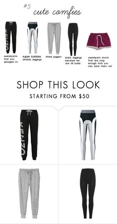 """cute comfies"" by interiorideas on Polyvore featuring Kenzo, No Ka'Oi, Gap, adidas Originals and H&M"