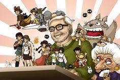 Ce mardi 5 Janvier marque le 75ème anniversaire du grand, du très grand Hayao Miyazaki. A la retraite depuis deux ans maintenant, le co-fondateur des studios Ghibli reste à ce jour l'un des réalisateurs de films d'animation japonais les plus connus au monde avec pas mal de superbes réalisations à son actif comme Mon Voisin Totoro, Porco Rosso, Princesse Mononoké ou encore Le Voyage de Chihiro.