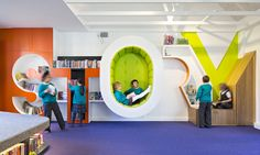 School libraries shelve tradition to create new learning spaces: You might think technology would spell the end of books and libraries. But many schools have embraced the digital revolution and built innovative spaces that foster a love of literature