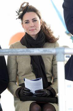 Kate Middleton - Prince William and Kate Middleton visit Trearddur Bay RNLI Lifeboat Station