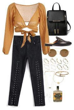 """Zaful 30"" by nikka-phillips ❤ liked on Polyvore featuring Mykita, Gucci, ASOS, NLY Accessories, Cartier and Nashelle"