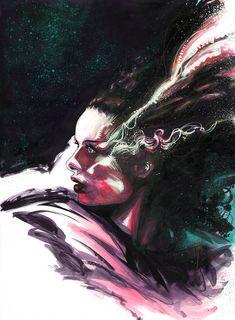 Bride of Frankenstein by Blasterkid