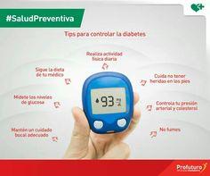 Tips para controlar la diabetes