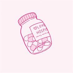 cute hospital // lovesick ~AS Aesthetic Stickers, Aesthetic Backgrounds, Aesthetic Wallpapers, Nurse Aesthetic, Pink Aesthetic, Knife Aesthetic, Mikan Tsumiki, Yandere Simulator, Creepy Cute