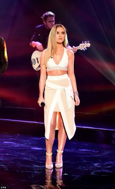 Perrie Edwards Graham Norton show