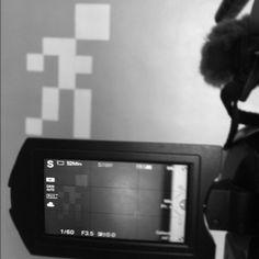 #Paphù #shooting #tournage  #série #pixel #art  plus d'infos sur http://www.paphu.com