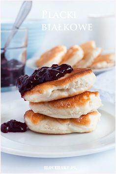 Placki białkowe - I Love Bake Cupcakes, Muffins, Herbalife, Food Inspiration, Recipies, Clean Eating, Food And Drink, Menu, Healthy Recipes