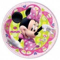Nueva colección de fiesta de Minnie Mouse, para las que os guste el rosa, esta es la vuestra. Son preciosos. Podeis ver estos, y el resto de articulos de la colección en este enlace. http://www.articulos-fiestas-infantiles.es/fiestas-tematicas-infantiles/989-platos-para-fiesta-de-minnie-mouse-pequenos.html