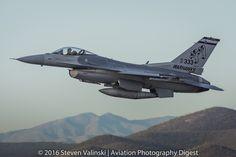 https://flic.kr/p/PBAfpi | General Dynamics F-16 Fighting Falcon | 87-0333 F-16C Block 32J 195th Fighter Squadron (195 FS) | 195th Aircraft Maintenance Unit (AMU) Tucson International Airport, AZ USA