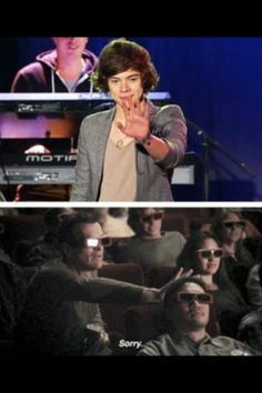 This would be me while watching a 3D documentary of One Direction.(;