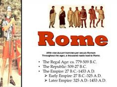 Ancient Rome from Bit of this and That on TeachersNotebook.com -  (101 pages)  - This presentation gives a good overview of Ancient Roman History. It looks at everything from geography to the Republic, the Punic Wars, Emperors and legacy. 101 slides in total. Very comprehensive presentation - Great resource for anyone teaching Ancient