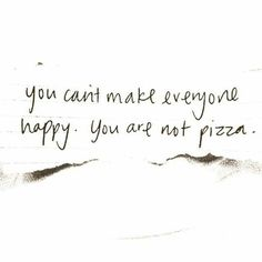 Not pizza :(