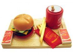 Hamburger Lunch Set