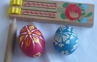 Jak ozdobit vajíčko voskovou batikou