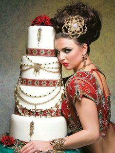 Fabulous Wedding Cakes indian style